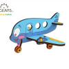avion colorat puzzle ugears, avion ugears, puzzle 3d mecanic colorat, puzzle lemn, puzzle copii ugears, puzzle copii, ugears