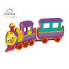 locomotiva ugears, puzzle ugears, puzzle 3 d ugears, puzzle mecanic ugears, pozzle colorat ugears, puzzle copii, puzzle copii ugears
