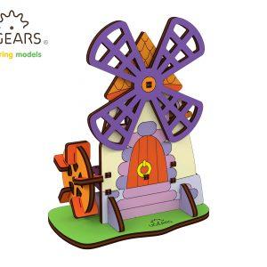 Puzzle 3D Moara
