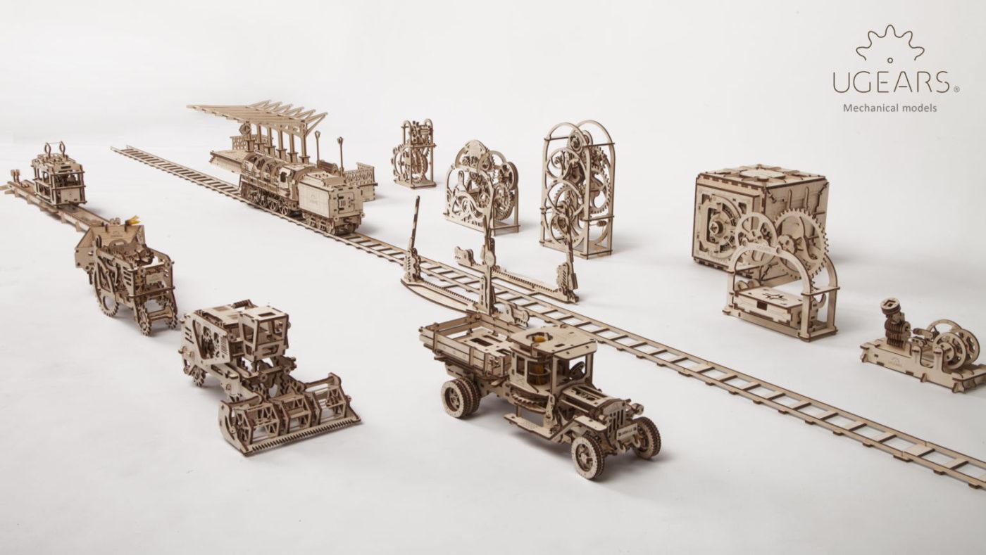UGears Modele Mecanice