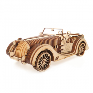 Roadster VM-02, Roadster Ugears, Puzzle mecanic 3D Ugears, Masina Roaster Puzzle
