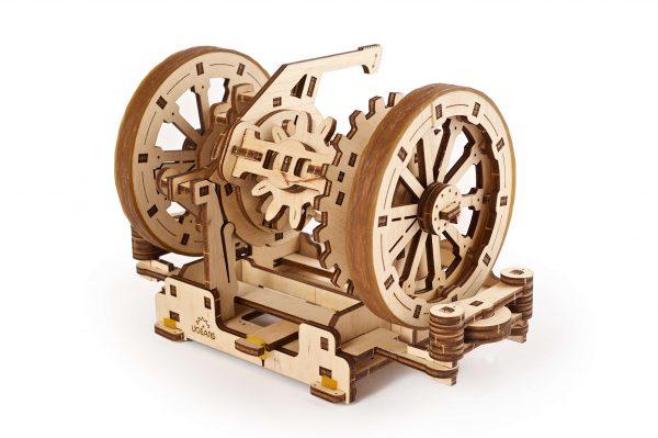 diferential , ugears, puzzle , puzzle lemn, stem